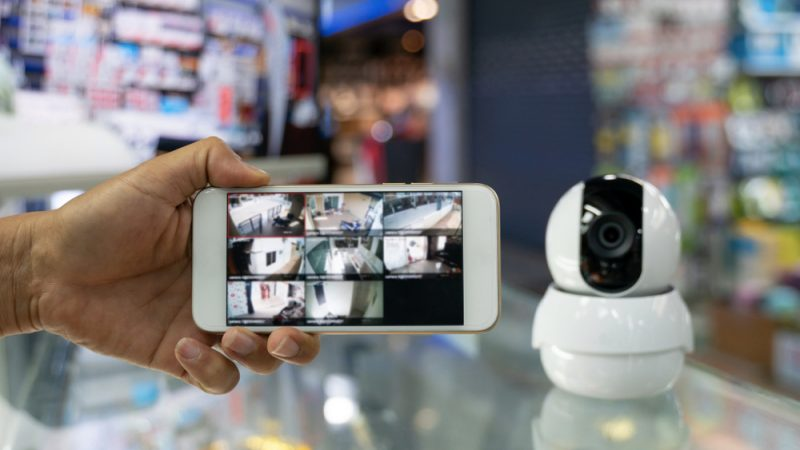 Caméra de surveillance : un système sûr