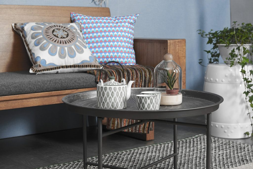 table basse industrielle pour embellir son salon